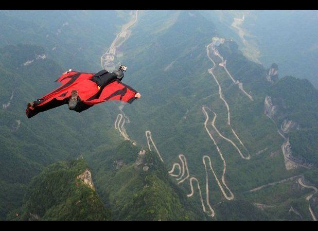If you ever watched Rocky the Flying Squirrel take to the air and thought you might want to try that someday, wingsuit flying