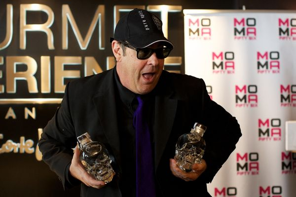 """The """"SNL"""" alum founded the ultra-premium 'Crystal Head' vodka line in 2007."""