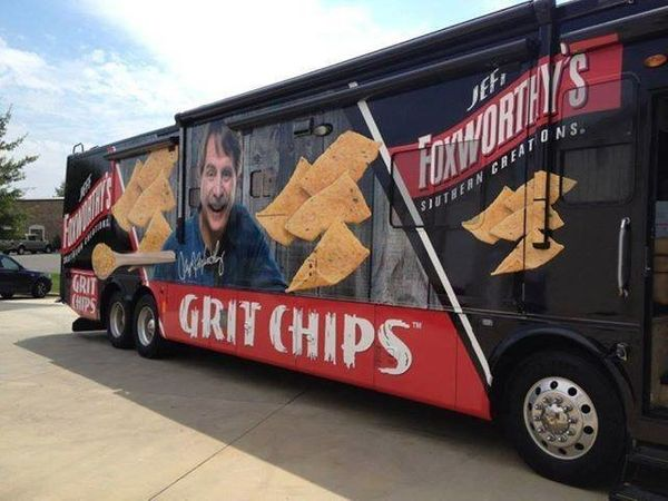 """In 2013, comedian Jeff Foxworthy (of """"You Might Be A Redneck"""" fame) launched Jeff Foxworthy's Southern Creations. Among the p"""