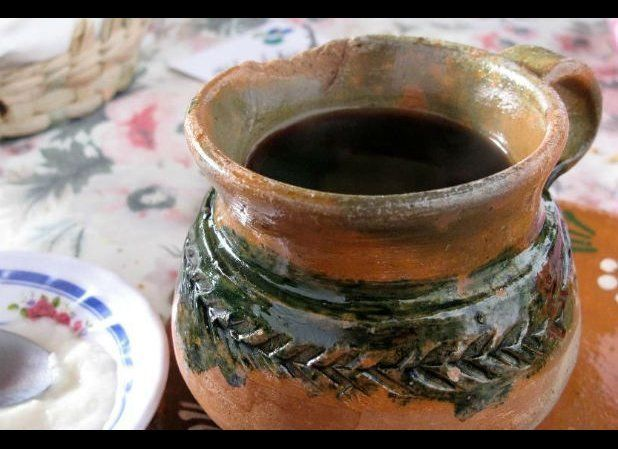 """Literally translated as """"pot coffee,"""" this is traditionally prepared in beautifully artisanal clay pots which give the drink"""
