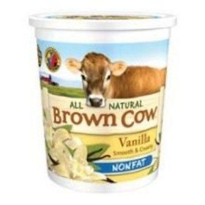 "Brown Cow's nonfat vanilla has <a href=""http://www.browncowfarm.com/products_popup/BC-Rebranding-6-oz-NF/Vanilla6.html?=20130"