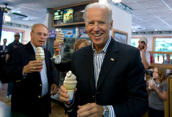 It's all fine, as long as he actually eats the ice cream.