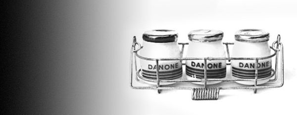 """Isaac Carasso <a href=""""http://www.danone.com/en/for-all/history/"""" target=""""_blank"""">founded Danone</a> in Barcelona in 1919 to"""