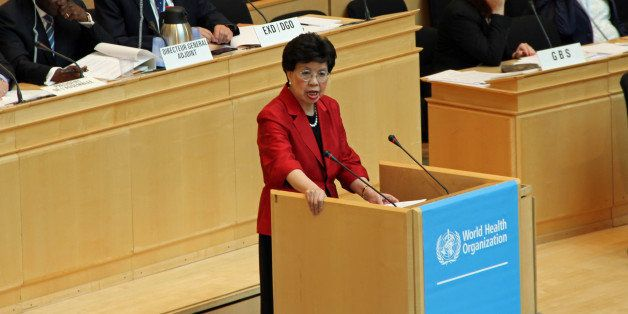 GENEVA, SWITZERLAND - MAY 19: The 67th Session of World Health Assembly begins in Geneva, Switzerland, on May 19, 2014. World