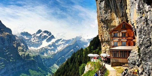 Berggasthaus Aescher Wildkirchli And 4 Of The Most Interesting Restaurants In World