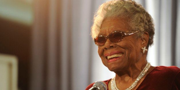WASHINGTON, DC - DECEMBER 09: Maya Angelou attends the AARP Magazine's 2011 Inspire Awards at the Ronald Reagan Building on D