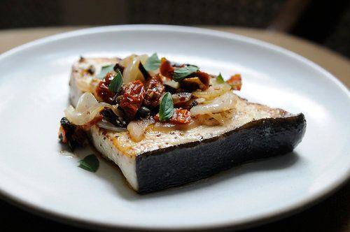 "<strong>Get the <a href=""https://food52.com/recipes/5717-sicilian-style-swordfish"" target=""_blank"">Sicilian-Style Swordfish</"