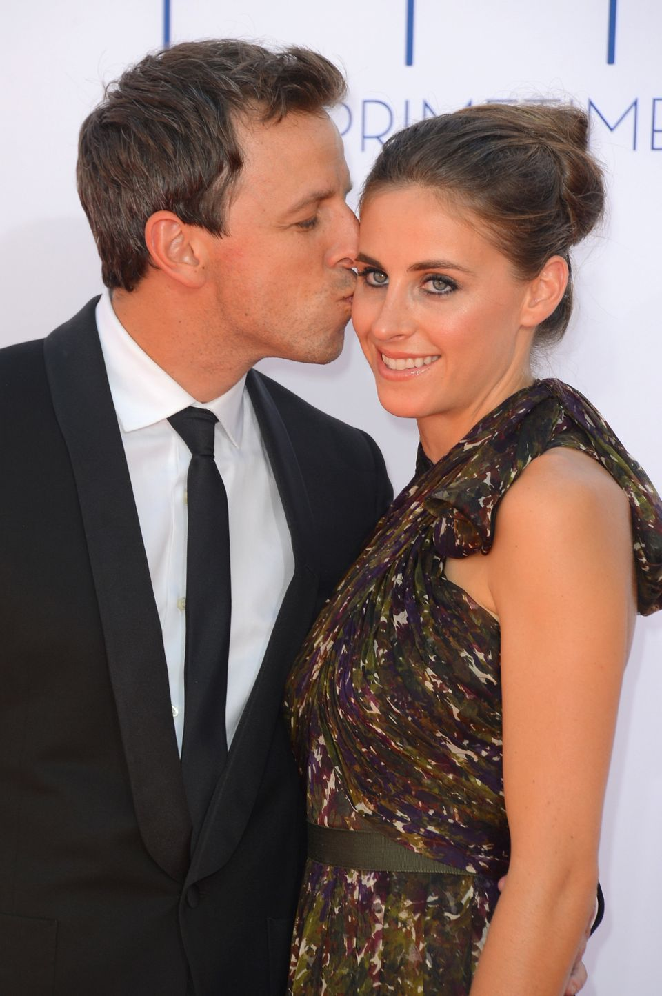 Seth Meyers became engaged to longtime lawyer girlfriend Alexi Ashe in New York City, in July 2013.