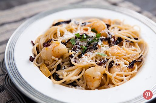 """<strong>Get the <a href=""""http://www.simplyrecipes.com/recipes/ancho_chile_shrimp_and_pasta/"""" target=""""_blank"""">Ancho Chile, Shr"""