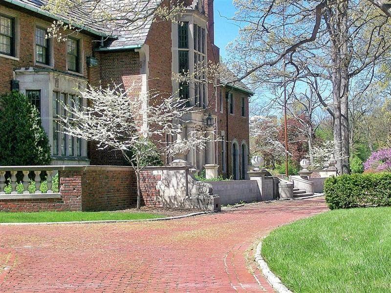 """The Alfred J. Fisher mansion, at <a href=""""http://www.realtor.com/realestateandhomes-detail/1771-Balmoral-Dr_Detroit_MI_48203_"""
