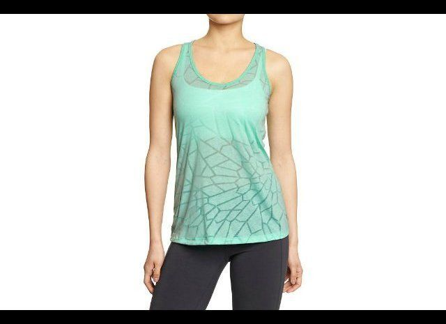 This simple but stylish tank comes in a handful of different shades that will add a bright pop of color to your workout wardr