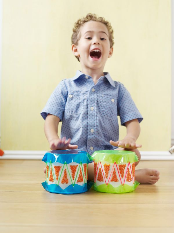 <br>With these bangin' bango drums dad might lose out on some quiet, but he gains an awesome instrument to rock out with.<br>
