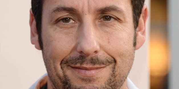 Actor Adam Sandler arrives for the red carpet premiere of 'Blended,' May 21, 2014 at TCL Chinese Theatre in Hollywood, California.   AFP PHOTO / ROBYN BECK        (Photo credit should read ROBYN BECK/AFP/Getty Images)