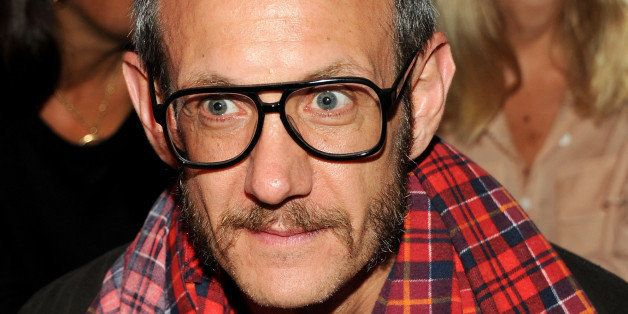 NEW YORK, NY - SEPTEMBER 10:  Photographer Terry Richardson attends the Rodarte fashion show during Mercedes-Benz Fashion Wee