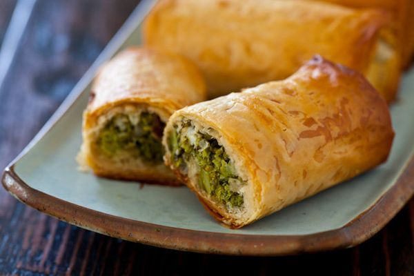 "<strong>Get the <a href=""http://steamykitchen.com/20999-broccoli-spanakopita-recipe.html"">Broccoli Spanakopita recipe</a> fro"