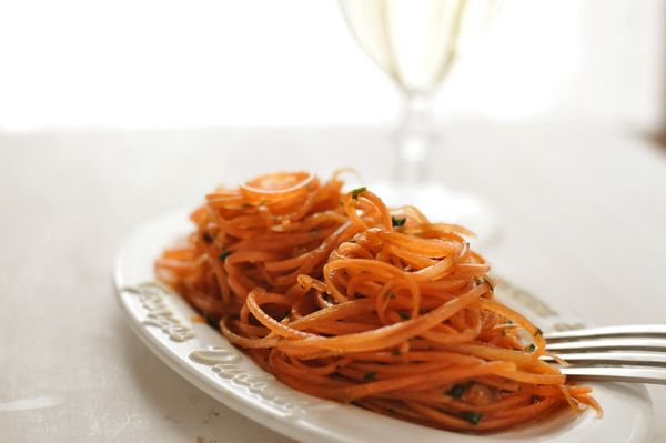 "<strong>Get the <a href=""http://food52.com/recipes/9895-carrot-salad-with-balsamic-dressing"" target=""_blank"">Carrot Salad wit"