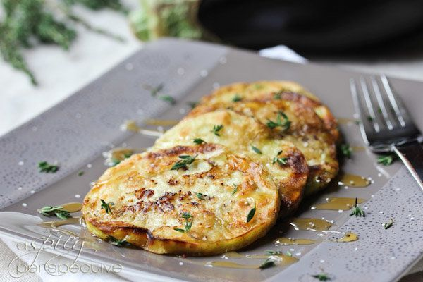"<strong>Get the <a href=""http://www.aspicyperspective.com/2012/08/how-to-cook-eggplant.html"" target=""_blank"">Sautéed Eggplant"