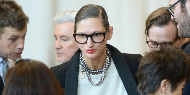 NEW YORK, NY - MAY 05: J. Crew creative director Jenna Lyons attends the Anna Wintour Costume Center Grand Opening at the Met