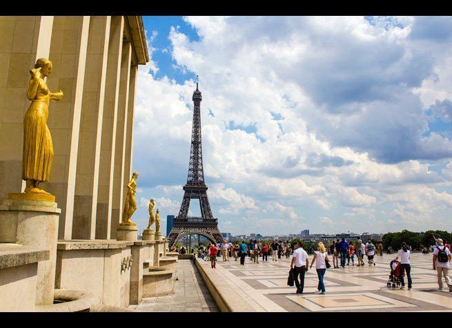 <em>Photo Credit: Rrrainbow / Shutterstock</em>  This monumental structure, originally constructed for the 1878 World's Fai