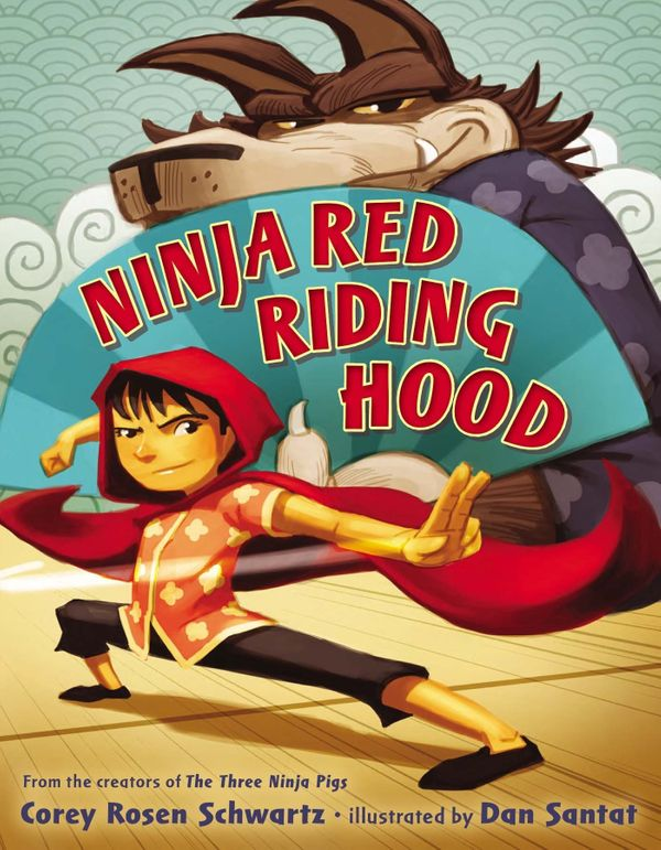 First it was the Three Little Pigs, now Red Riding Hood is studying martial arts! Thank goodness, because how else can she be