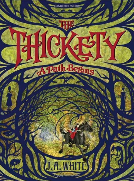 I sat down with <em>The Thickety</em> and didn't get up until I'd finished. This book is marvelous -- a lushly woven story of