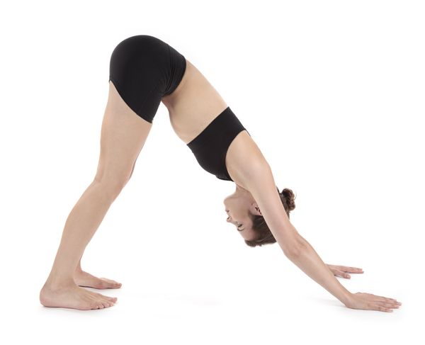 Start on the hands and knees, with your knees below the hips and the hands just in front of the shoulders. Then, walk your kn
