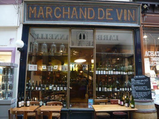 A favorite Paris wine bar, Racines serves market-driven food with simple ingredients. It's situated in a 19th-century shoppin