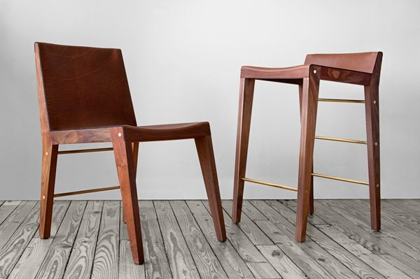 This Brooklyn-based designer uses only ethically and locally sourced materials and produces handcrafted furniture in small ba