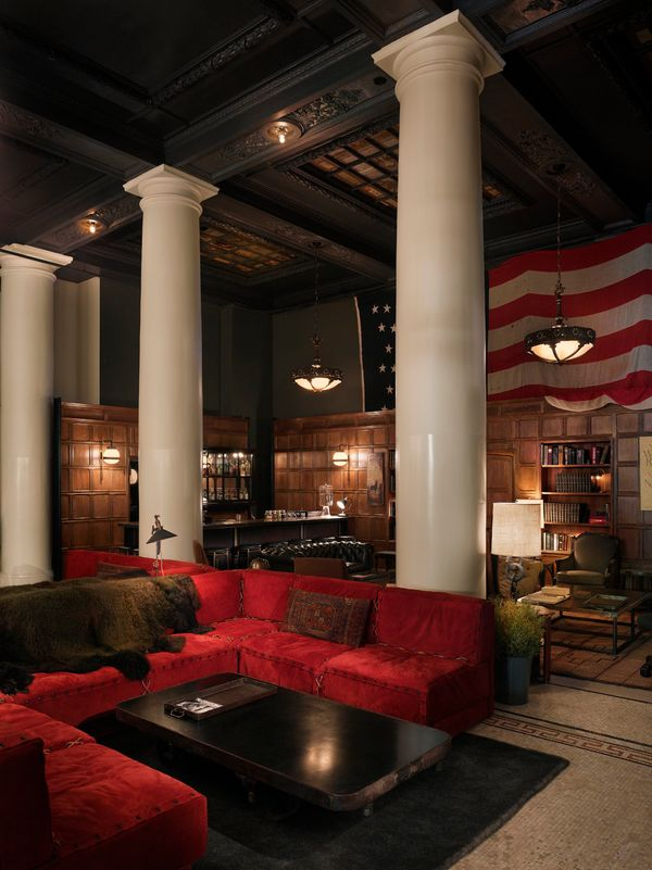 If you happen to find yourself in New York City, you must stop by the ever-popular Ace Hotel in Manhattan's Nomad neighborhoo