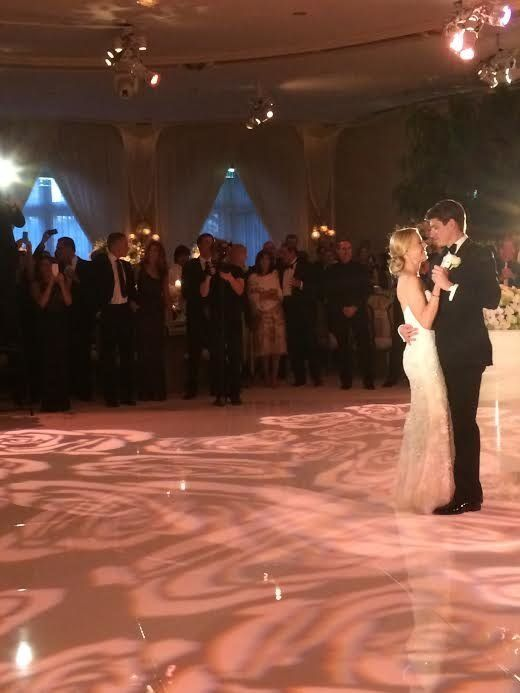 """Taylor and Brian's beautiful wedding in Beverly Hills, Calif."" - Ashley Reich, Senior Editor of HuffPost Weddings"