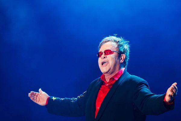 At Rock in Rio Festival on September 23, 2011.