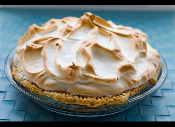 Key lime pie is the state food of Florida and it comes straight from the Florida Keys, hence its name. Aunt Sally, personal c