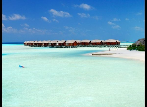 <strong>MALDIVES 98.5</strong>  OUR FAVORITE: Your own  THE LOOK: With over 1,000 small islands in 26 atolls there's no