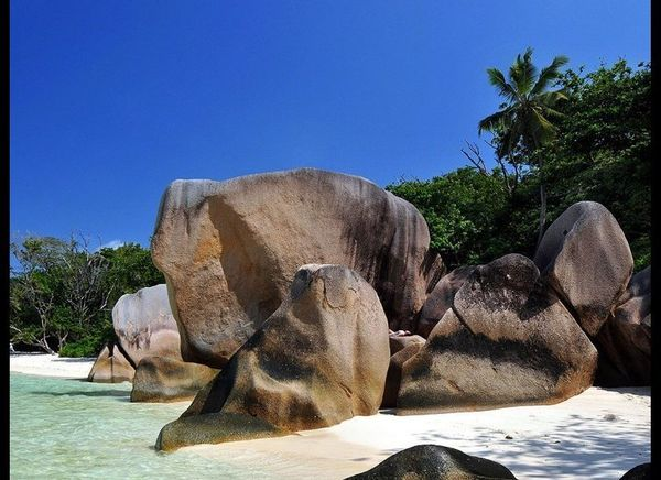 <strong>SEYCHELLES 100.0</strong>  OUR FAVORITE: Anse Source d'Argent on La Digue  THE LOOK: Dazzling white sand, huge g