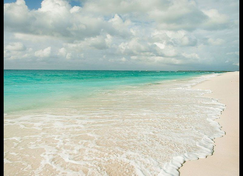 <strong>TURKS & CAICOS 88.7</strong>  OUR FAVORITE: Long Bay Beach, Providenciales  THE LOOK: Surrounded by the world's