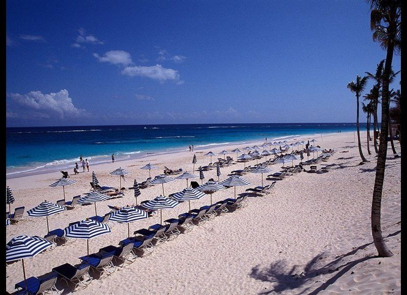 <strong>BERMUDA 89.5</strong>  OUR FAVORITE: Elbow Beach  THE LOOK: Pink sand, naturally, but quieter than other beaches