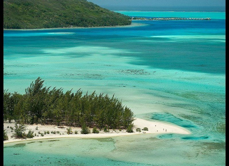 <strong>BORA BORA, FRENCH POLYNESIA 89.5</strong>  OUR FAVORITE: Motu Tapu  THE LOOK: A tiny, uninhabited island in the