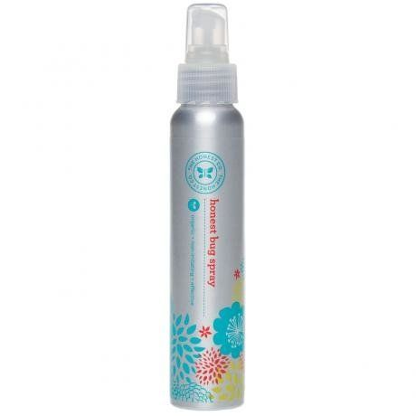 "This bug spray repels insects without harsh dyes, petrochemicals and pesticides. $12.95, <a href=""https://www.honest.com/bath"