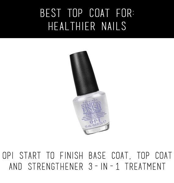 If you notice your nails are looking a little dull and brittle, give them some TLC with OPI's 3-in-1 treatment.  <br>  $12.95