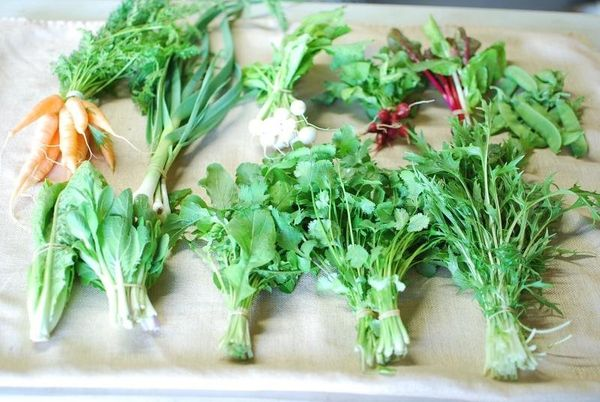It doesn't get much better than hand picked and locally grown.
