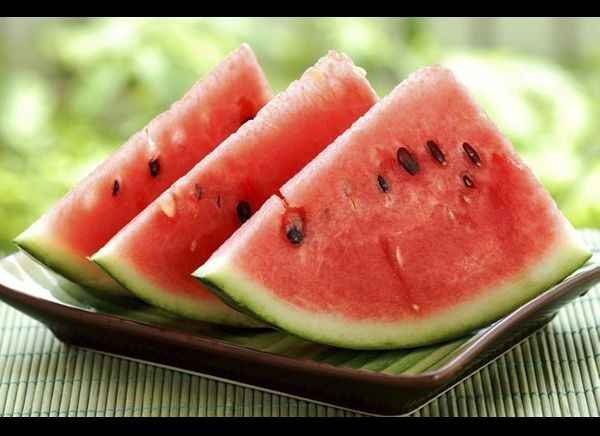 We know that watermelon is full of water, hence the name, but this melon is also high in antioxidants. Make a refreshing wate