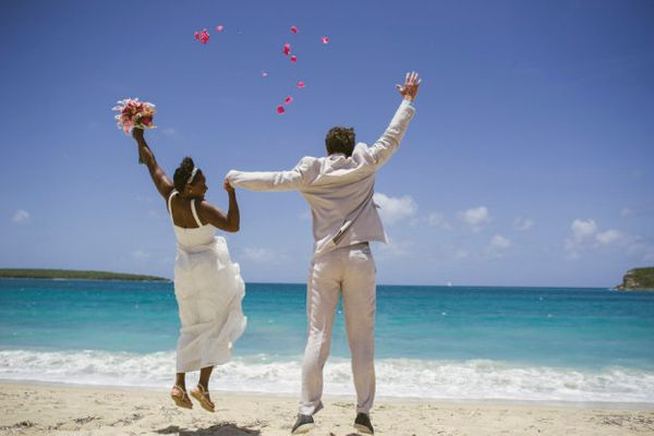 """""""Cynthia Bennett and Jesse Bertram eloped on Vieques Island."""" - Sandy Malone, Weddings in Vieques"""