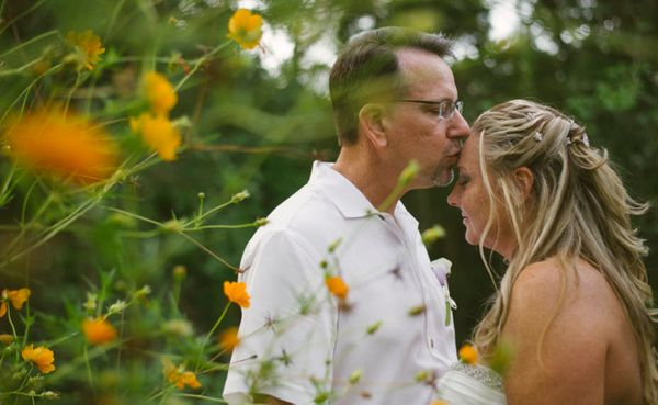"""""""Susan Caudill and Reece Kinnick were married on Vieques Island, Puerto Rico."""" - Sandy Malone, Weddings in Vieques"""