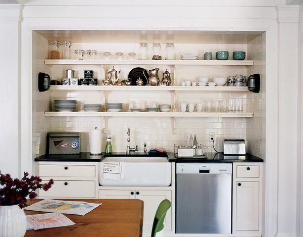 Don't even let dishes rest in the sink -- just rinse and put them directly in the dishwasher. And if you don't have one, be s