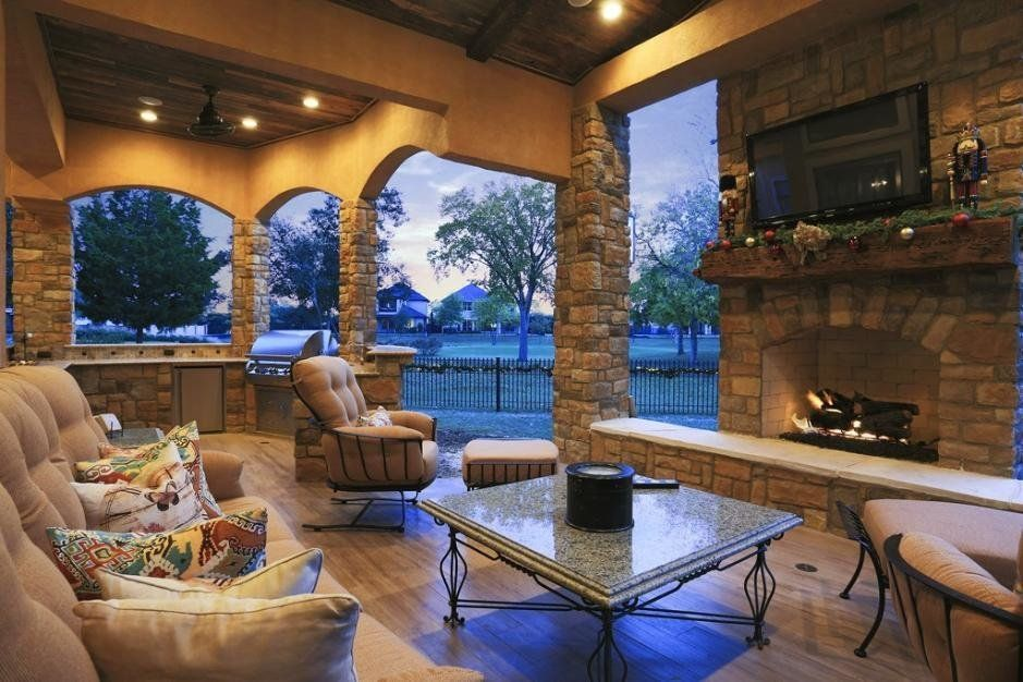 """<a href=""""http://porch.com/projects/royal-oaks-patio-addition?img=1068195"""" target=""""_blank"""">Royal Oaks Patio</a> by Texas Custo"""