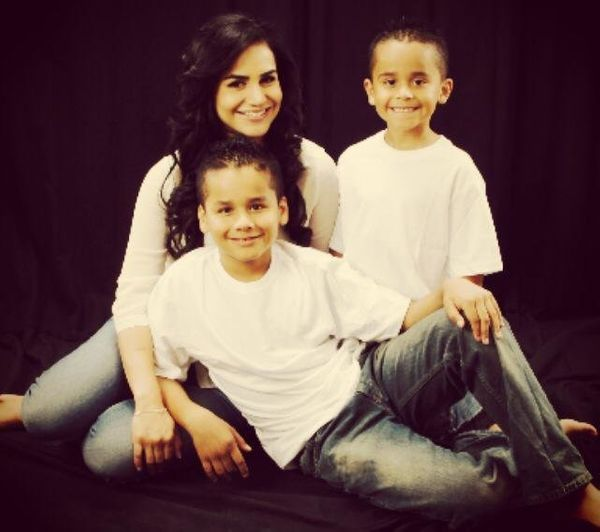"""""""I am a single mom raising two boys ages 9 and 7. I am Mexican and work for AMR as an EMT."""""""