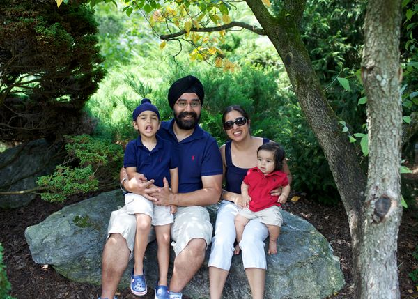 """""""Our Sikh family may not look like the typical American family when we take our annual road trip to Washington D.C. to celebr"""