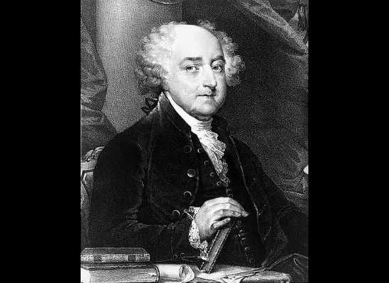 As a young boy, John Adams would often skip school, choosing instead to spend his time hunting and fishing.