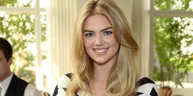 NEW YORK, NY - JULY 08:  Model Kate Upton poses for the Express & Kate Upton Campaign Launch Event on July 8, 2014 in New York City.  (Photo by Dimitrios Kambouris/Getty Images for Express)
