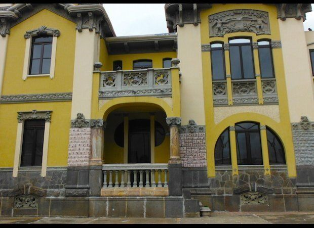 This historic home in downtown San Jose, Costa Rica has been repurposed as office space, and awaits its next tenant.
